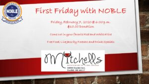 NOBLE First Fridays at Mitchell's Ultra Lounge