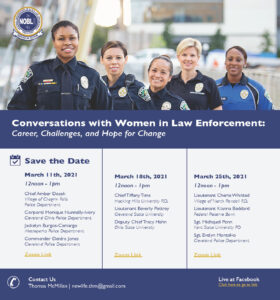 Conversations with Women in Law Enforcement
